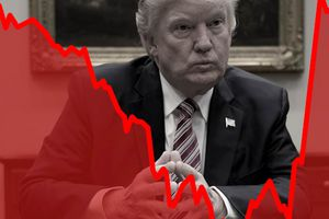 C'est à croire que la Bourse est aussi logique que Donald Trump...