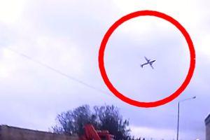 Le crash de l'avion à Malte filmé par un habitant