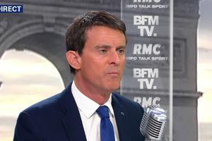 Manuel Valls votera Emmanuel Macron et pas Benoît...