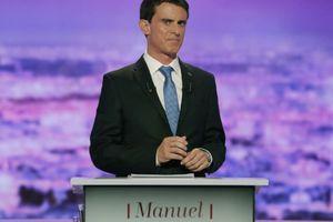 Manuel Valls pris en flagrant délit de narcissisme pendant le débat de la primaire de la gauche