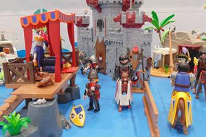Animation / Village Playmobil à Vannes