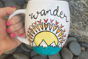 Hand Painted Wander