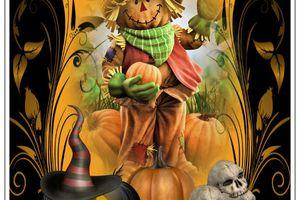 Carte pour halloween