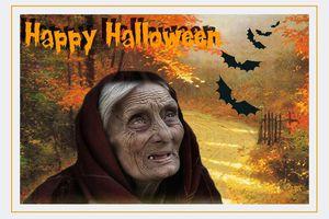 Carte à imprimer ~Halloween~