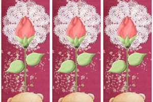 Marques pages ~Saint Valentin~
