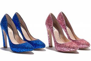 Des Chaussures en Paillette chez Miu Miu