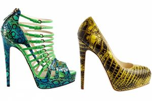 Shoes : Brian Atwood Printemps 2012