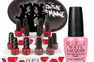 OPI : Collection Couture de Minnie