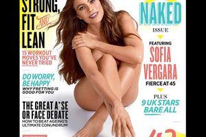 Melanie Sykes, 47 ans : Entièrement nue avec...
