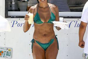 Claudia Jordan : 43 ans et une allure époustouflante en bikini !