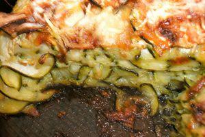 gratin de courgettes au fromage