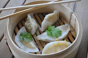 Raviolis chinois à la vapeur (Ha cao) au poulet à ma façon
