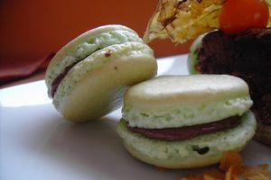 Macarons ... pas encore au point mais on y arrivera !