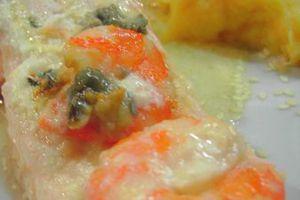 Pavé de saumon au saint agur