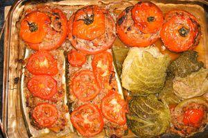 Légumes de saison farcis