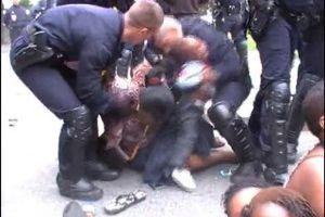 La courneuve : résistance populaire contre violence policière dans la rue