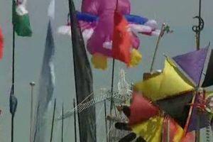 Dieppe : le festival international de cerf-volant