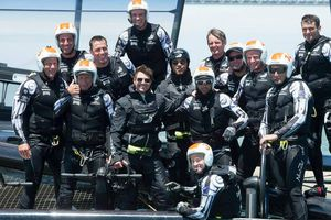 Tom Cruise ospite alla Coppa America con il Team New Zealand