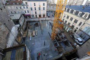 Le nouvel Eurodif achevé et les vestiges médiévaux de nouveau visibles en juin