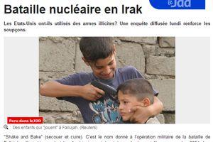 [2011] Bataille nucléaire en Irak
