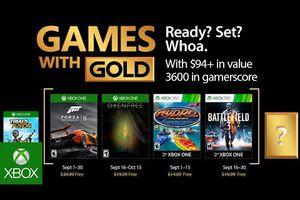 [Games With Gold] Les jeux gratuits du mois de septembre sont disponibles.