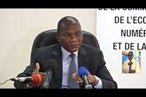 Côte d'Ivoire : Economie numérique, conférence du Ministre