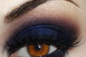 navy blue and purple