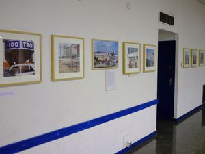 Vernissage Collège Diderot- expo sur Tanger