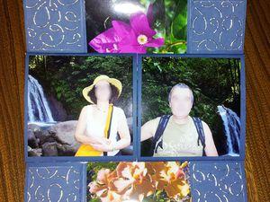 """Mini album """"sans fin"""" ou """"Tournicoti - Tournicoton"""" réalisé avec l'atelier Scraptoujours http://www.scraptoujours.com/node/993"""