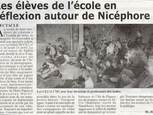 Album articles de presse