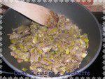 Tagliatelles sur fondue de poireaux aux pétoncles