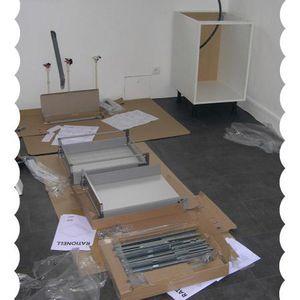 Cuisine IKEA : étape n°3 - montage et installation