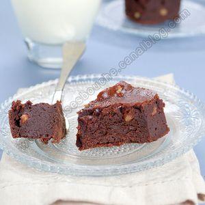 Brownie au sirop d'érable