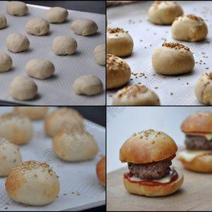 Mini hamburgers pour l'apéro, le brunch ou pour le fun