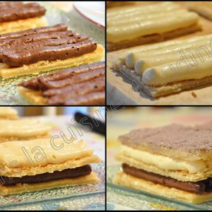 Mille feuilles chocolat passion