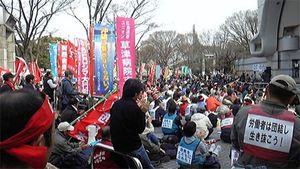 Le gouvernement « démocrate » Japonais refuse toujours d'accorder aux fonctionnaires le droit de faire grève