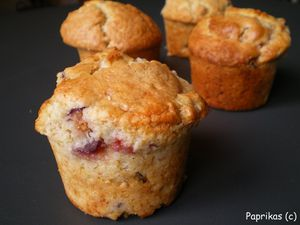 MUFFINS AU FROMAGE, FIGUES ET NOIX