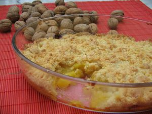 CRUMBLE A LA MANGUE