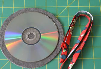 vieux cd recycles