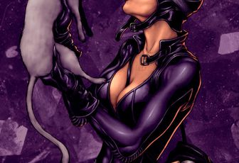 """Catwoman:northchavis colors"" - par wrathofkhan"