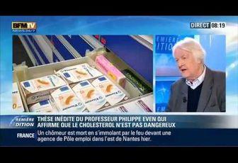 La vérité sur le cholestérol par le Professeur Philippe Even
