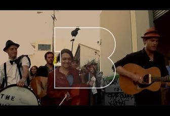 The Lumineers - Ho Hey and Big Parade (Live acoustique)
