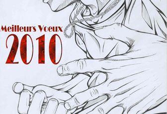 Meilleurs voeux du Club Manga : La carte officielle