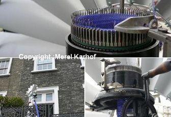 Tricoter avec un moulin à vent ...