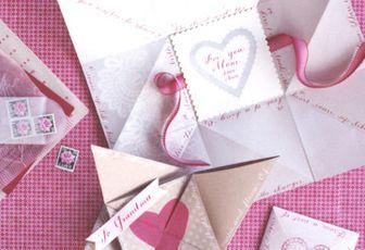 Une carte origami..à adapter en broderie ??