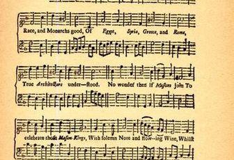 """""""A Master's song"""" pour Philip, Duc de Wharton - 1723"""