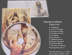 MERCENARY: The Hours That Remains (2006) [ Power Metal]