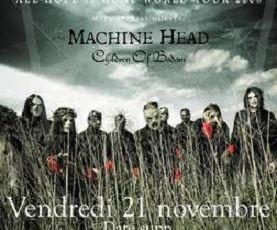 Slipknot/Machine Head/Children Of Bodom (Le Zenith-21/11/2008)