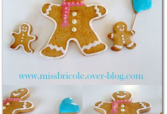 Gingerbread Man ou Bonhomme en pain d'épices