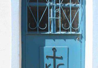 Le coeur non pas sur la main... mais sur les portes de Gökçeada